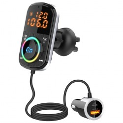 FM-sender USB MP3 Bluetooth PD / QC til bilen
