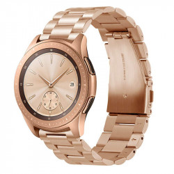 Armbånd Samsung Galaxy Watch 42mm, Gear Sport, Gear S2 - Rose Gold