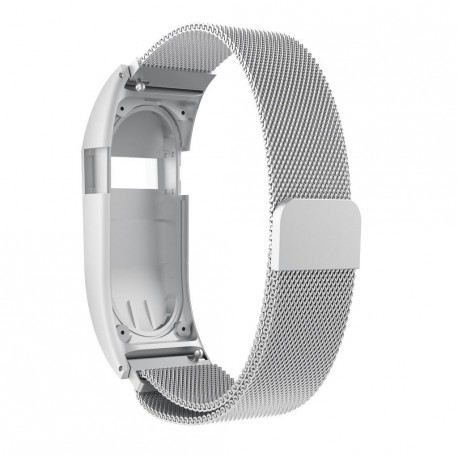 Fitbit Charge HR Armband Milanaise silber