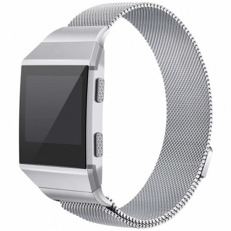 Fitbit Ionic Armbånd Milanese Loop Silver (S)