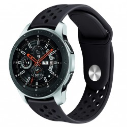 Armbånd til Samsung Galaxy Watch 46 mm - sort