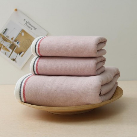 Creative 100%Cotton Thick Towel - Pink