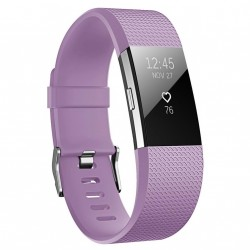 Fitbit Charge 2 armbånd – Lilla - S