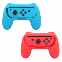 Nintendo Switch Joy-Con Controller Grip - 2-pack - rød / blå