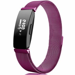 Fitbit Inspire / Inspire HR Armband Milanaise dunkellila - S