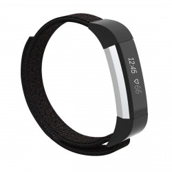 Learn to pronounce Fitbit Alta / Alta HR / Ace armbånd nylon - sort