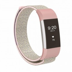 Fitbit Charge 2 armbånd lyserød