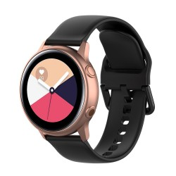 Armbånd til Samsung Galaxy Watch 42mm - sort (L)