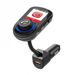 Bluetooth-adapter til bilen - FM-sender - billader