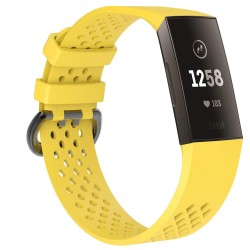 Fitbit Charge 3/4 armbånd gul (S)