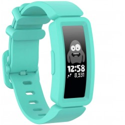 Fitbit Ace 2 / Inspire / Inspire HR silikone rem - turkis